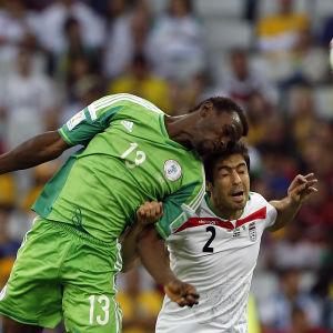 Nigeria-Iran, VM i Brasilien 2014