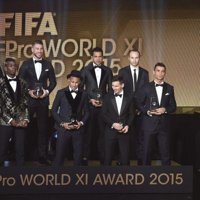 FIFA FIFPro World XI 2015
