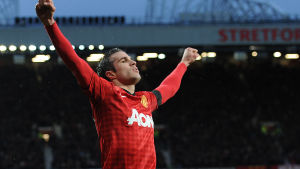 Robin van Persie, Manchester United, februari 2013