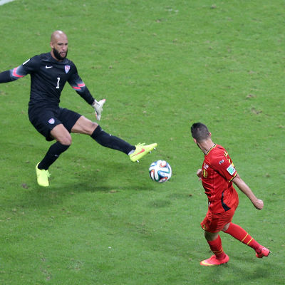 Belgien, Tim Howard under VM 2014