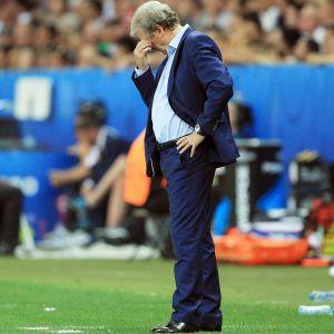 Roy Hodgson tackade för sig efter Englands sorti ur EM-turneringen.