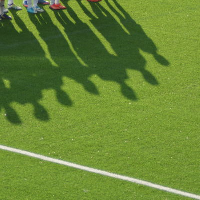 Finlands U19-landslag inför match i Seinäjoki.