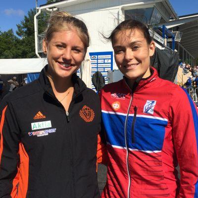 Erica Hjerpe och Alina Strömberg, FM 2017.