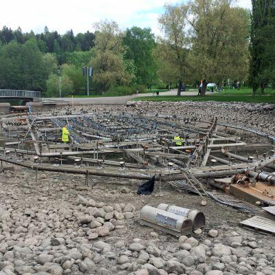 Lahden vesiurut huolto kevät 2016