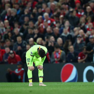 Lionel Messi, Mestarien liigan välierässä 2019 Liverpoolia vastaan