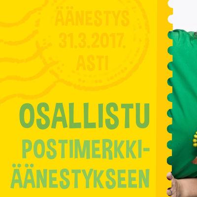 Osallistu postimerkkiäänestykseen 31.3. asti