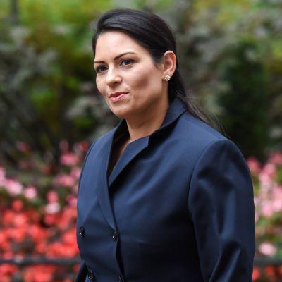 Britannian sisäministeri Priti Patel.
