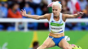 Sandra Eriksson i OS 2016.
