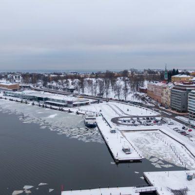 Eteläranta Helsinki ilmakuva