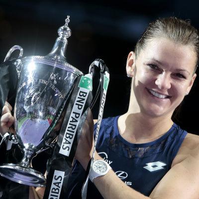 Agnieszka Radwanska vann WTA-finalen.