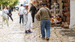 I Houmt Souk på ön Djerba i Tunisien.