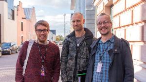 OMVF-tuomaristo 2014: Mikko Mällinen, Misko Iho ja Mikko Meriläinen