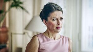 Kristiina Halttu sarjassa Presidentti.