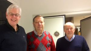Ingmar Asplund, Risto Lindgren och Bo Wessman