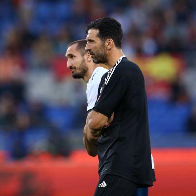 Giorgio Chiellini ja Gionaluca Buffon