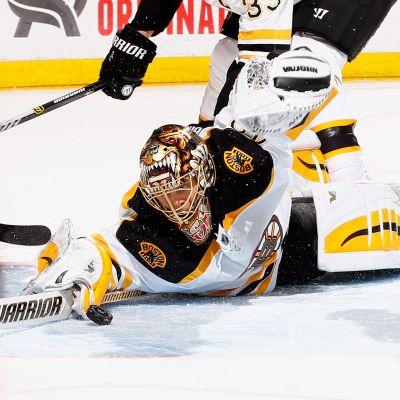 Tuukka Rask, målvakt för Boston Bruins.