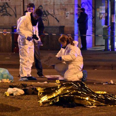 Den misstänkte tunisiske terroristen Anis Amri sköts till döds i Milano