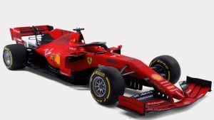 Ferraris bil säsongen 2019.