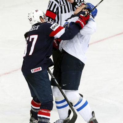 USA knockade Finland i Minsk.