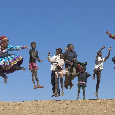 Saamelaisasuisia Afrikassa