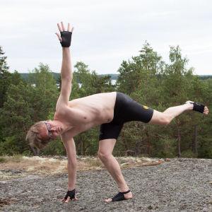 Yogaställning