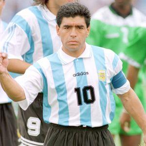 Matchen mot Nigeria den 25 juni 1994 blev Diego Maradonas sista i Argentinas landslag.