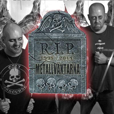 Metallväktarnas gravsten NY