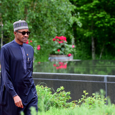Nigerias president Muhammadu Buhari