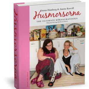 Pärmbild av boken Husmorsorna - the ultimate köksalmanacka.