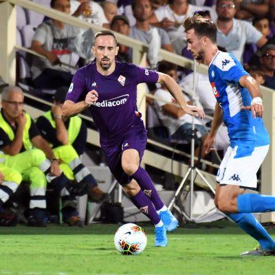 Franck Ribery Fabian Ruiz