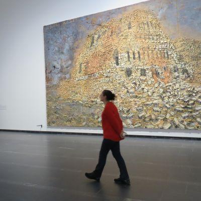 Kiefer-näyttely Serlachiuksen Gösta-paviljongissa