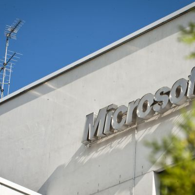 Microsofts kontor på Kägeludden i Esbo.