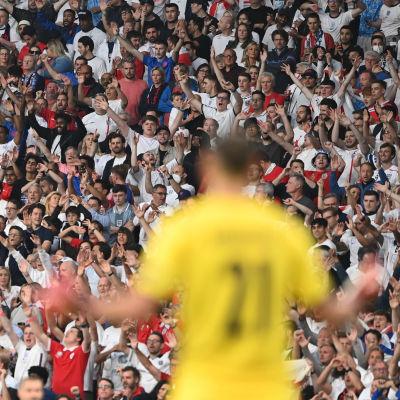 Publik på EM-finalen.