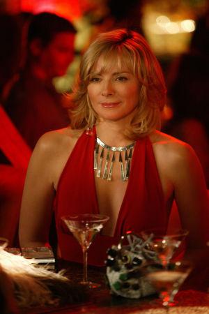Kim Cattrall i rollen som Samantha Jones i tv-serien Sex and the city.