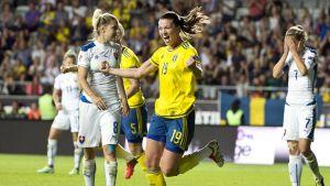 Pauline Hammarlund sköt Sverige till EM.