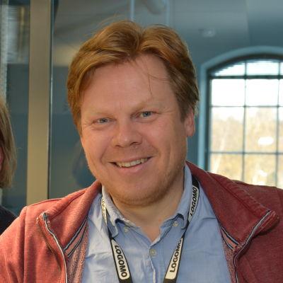 Dan Lolax, samhällsreporter på ÅU.