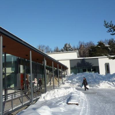 Skolhuset i Korpo.