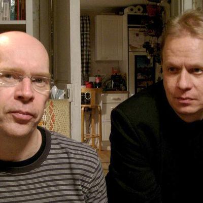 Robert Åsbacka och Peter Sandström