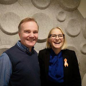 Robert Bergholm och Anita Westerholm