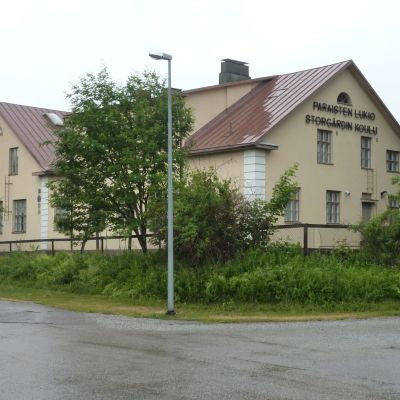 Pargas finska gymnasium.
