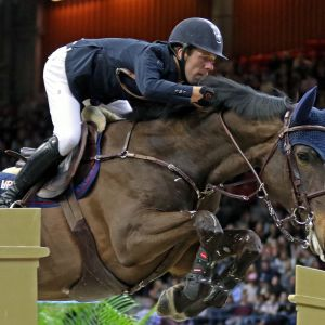 Holländaren Maikel van der Vleuten deltar i Horse Show.