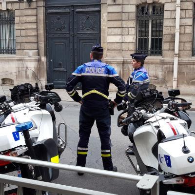 Frankrikes polis.