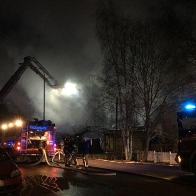 Pappilan tulipalo Tampereella