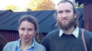 Mikaela Sonch och Daniel Nyman.