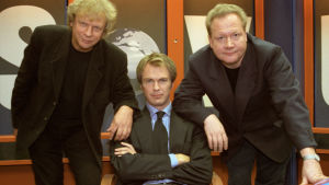 Uutisvuodon alkuperäinen kolmikko: Tommy Taberman, Peter Nyman, ja Jari Tervo.