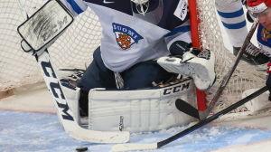 Ishockeymålvakt.
