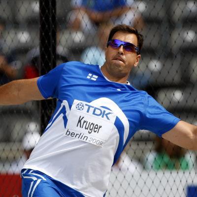 Frantz Kruger, VM 2009.