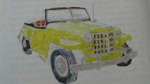 Willys Jeepster, 1951 (Illustration: Neil Young)