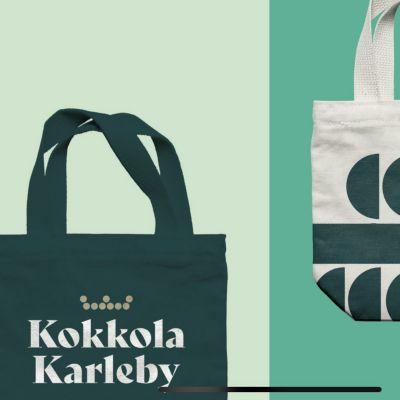 Karleby stad har ett nytt varumärke.