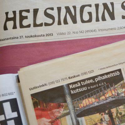 Helsingin Sanomat -lehti.
